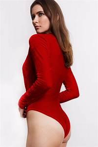 Velvet Bodysuit No 1