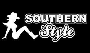foto de Southern Style DecalMudflap Country girl car window