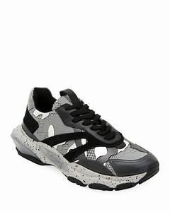 Camo Designer Handbags Valentino Garavani Men 39 S Bounce Camo Runner Sneakers
