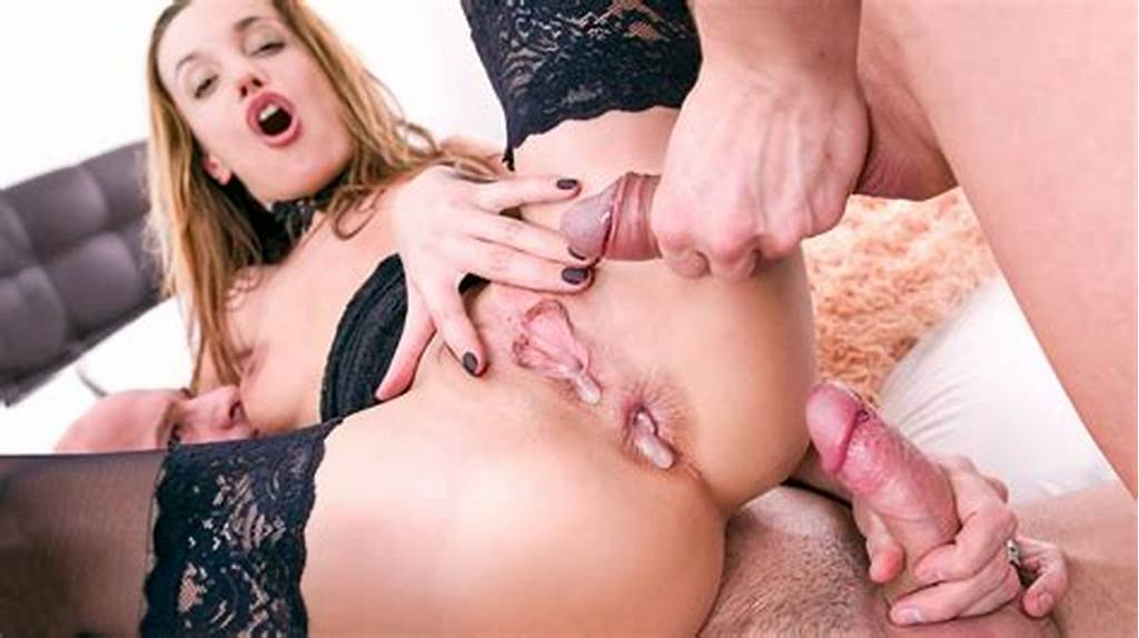 #Hazel #Dew #In #A #Threesome #With #Anal #Dp #And #Double #Creampie