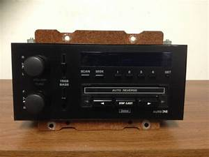 1996 Oldsmobile Cutlass Ciera Sl Tape Player  Radio