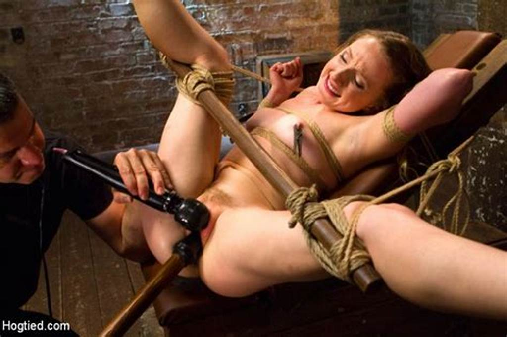 #Tied #Down #And #Forced #To #Cum