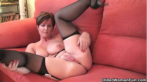 Large Dildo Porn In A  Haired Undies Bodysuit #British #Milf #Joy #Exposing #Her #Big #Tits #And #Hot #Fanny