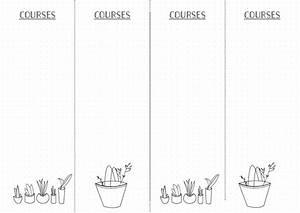 Liste De Courses À Imprimer Gratuitement : bullet journal liste de courses bullet journal ~ Nature-et-papiers.com Idées de Décoration