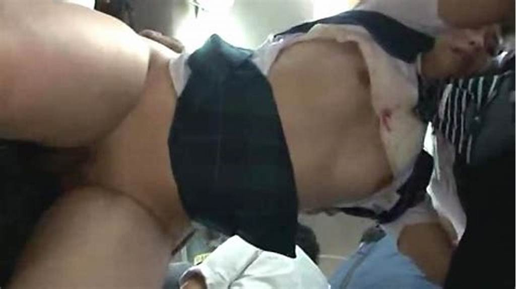 #Japanese #Teen #With #Big #Ass #Gangbanged #In #A #Public #Bus