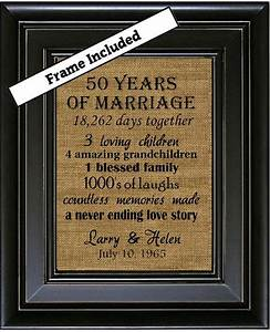 50th wedding anniversary 50th anniversary gifts 50th With 50th wedding anniversary ideas for parents