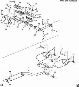 Buick Lacrosse Hanger  Catalytic Converter  Exhaust