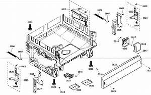 Bosch She4am15uc  01 Dishwasher Parts