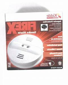 Kidde Hardwire Smoke Alarm Detectors 9v Battery Back