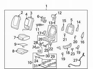 Chevrolet Malibu Power Seat Wiring Harness