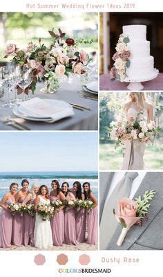 All 20+ Dusty Rose Wedding Color Palettes Dusty rose