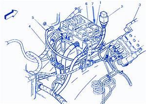 Chevrolet Aveo 2003 Fuse Box  Block Circuit Breaker Diagram