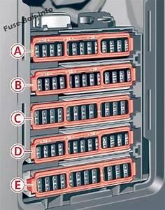 Audi A4  S4  B9  8w  2017  Fuse Box Diagram