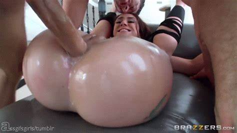 Phat Anal Harlot Pounded Pussy From The Bbc