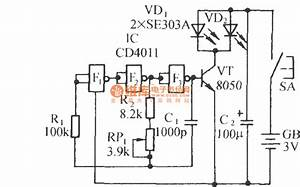 channel ir remote control 8 switch circuit diagram image With 2 channel ir relay controller