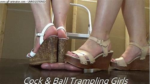 Heel French High Heels Crush Trample #Cock #And #Ball #Trampling #Girls