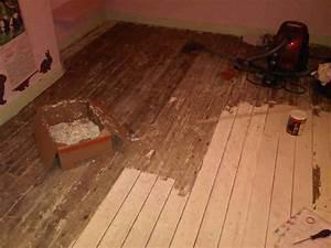 recouvrir un vieux plancher bois lsmydesigncom With peindre son parquet en gris