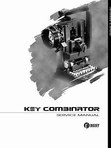 Best Key Combinator Service Manual T61804