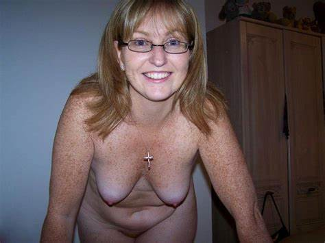 Comely Gorgeous Freckles Mature