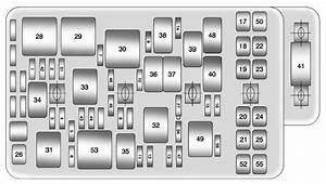 Chevrolet Malibu  2011 - 2012  - Fuse Box Diagram