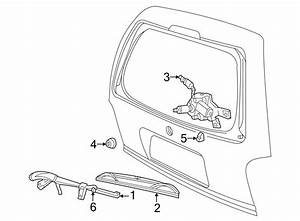 Ford Explorer Sport Back Glass Wiper Arm  All  Explorer