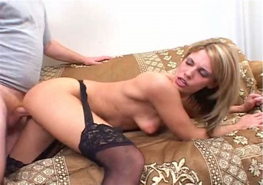 #Big #Assed #Blond #Slut #With #Small #Saggy #Tits #Gets #Her #Anus