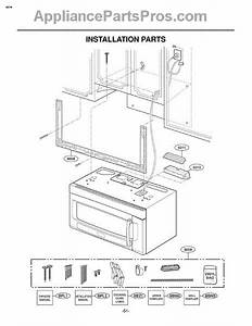 Parts For Lg Lmvm2055sb    Abkelga  Section 7 Parts