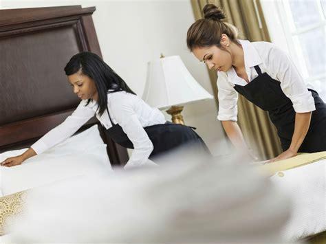 emploi de femme de chambre marriott encourage les pourboires pour ses femmes de