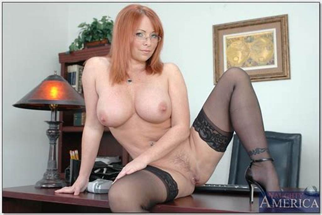 #Mature #Office #Secretary #In #Glasses #Kylie #Ireland #Posing #In
