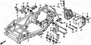 Honda Atv 1985 Oem Parts Diagram For Frame