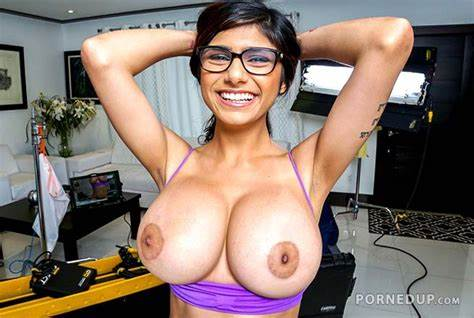Mia Khalifa Tanned Up Biggest Tit Retro