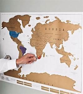 Carte Du Monde à Gratter Maison Du Monde : carte du monde gratter ~ Teatrodelosmanantiales.com Idées de Décoration