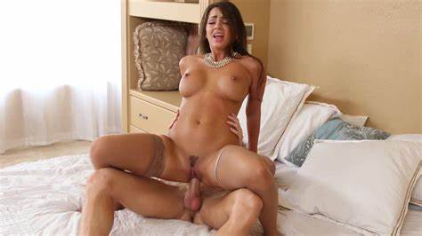 Sultry Redhead Brunette Milf Rides Teenie Dick For Hubby