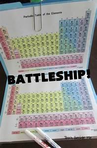 Creative Mom Makes A Battleship Game Using The Periodic