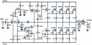 400 Watt 70 Volt Amplifier Schematic  U0026 Pcb Layout Design
