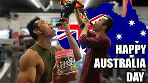 Supp Review  Ghost Pre-workout L Australia Day Vlog