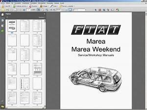 Fiat Marea    Marea Weekend Service Manual