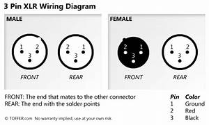 Clp121 Adapter Xlr Female Wiring Diagram