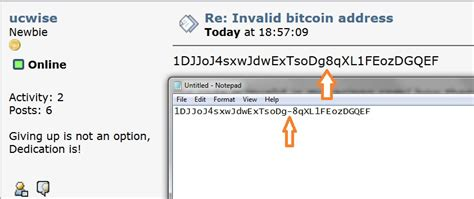 By creating your first bitcoin address, you've also begun to fill in your bitcoin wallet. Bitcoin Address