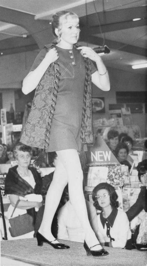 Hazelwoods fashion parade; Billie White (staff member