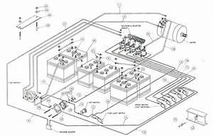 1998 Clubcar 48 Volt Battery Wiring Diagram