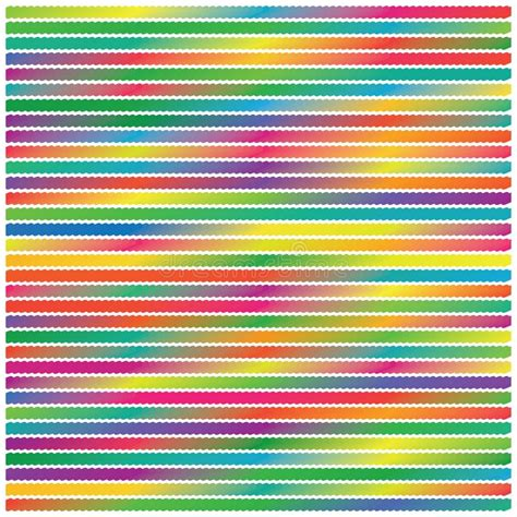 Colors Stripe Grunge Polka Dots Vector Background Pattern