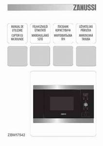 Zanussi Zbm17542xa Microwave Oven Download Manual For Free