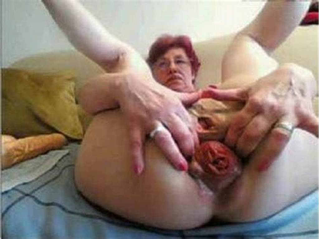 #Webcam #Depraved #Granny #Falls #Colossal #Prolapse #Asshole