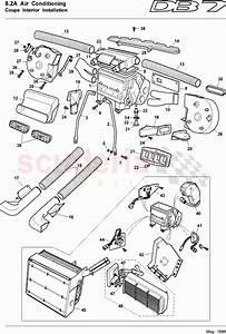 Aston Martin Db7  1997  Coupe Interior Installation Parts
