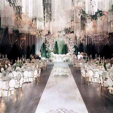 62 extravagant white indoor wedding ceremony 55 in 2020