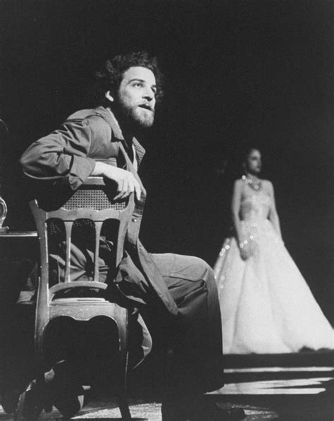 Maybe you would like to learn more about one of these? Actor Mandy Patinkin as Che Guevera (L) in a scene from the Broadway production of the musical ...