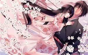 Video X Couple : anime couple pink flower wallpapers 1680x1050 671951 ~ Medecine-chirurgie-esthetiques.com Avis de Voitures