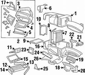 Ford Contour Hvac Blower Motor Control Module  1997