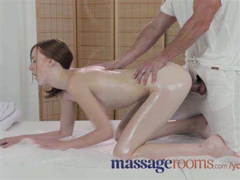 Massage Rooms White Skinned Natural Breast Lovely Orgasms